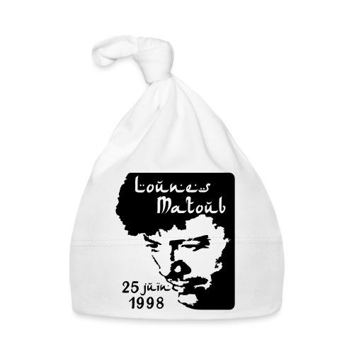 Motif hommage à Lounes Matoub - Bonnet Bébé