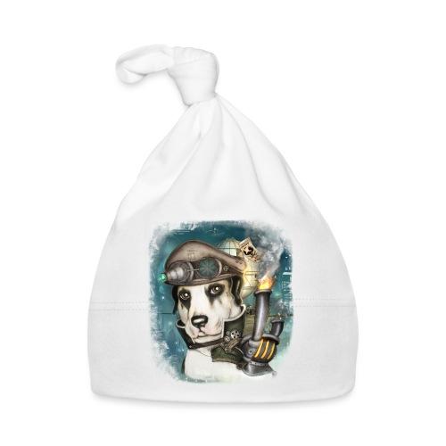 Steampunk Dog #2b - Cappellino neonato
