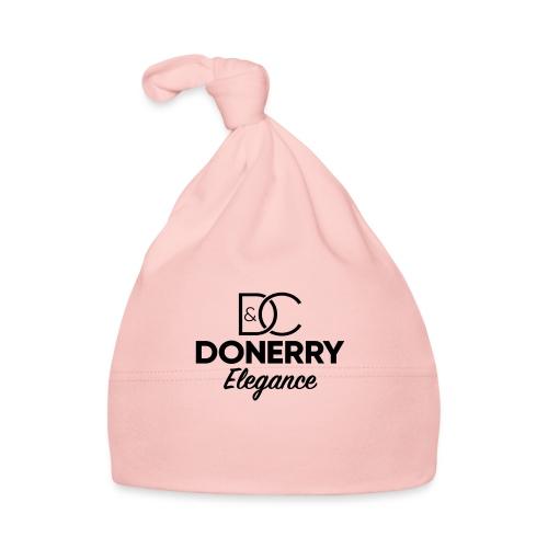 Donerry Elegance Black Logo on White - Baby Cap
