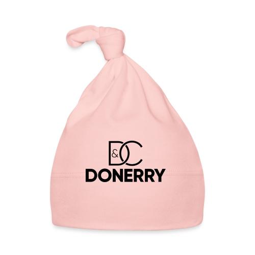 DONERRY Black Logo on White - Baby Cap