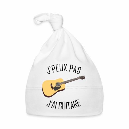 J'peux pas j'ai Guitare - Bonnet Bébé