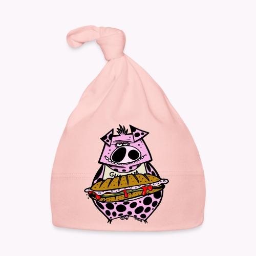 pig vs pig col - Cappellino neonato