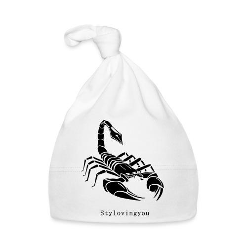 Scorpion noir - Bonnet Bébé