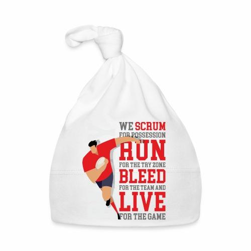 MarPlo Scrum Run Live Red - Cappellino neonato