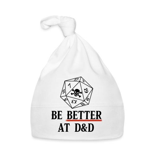 Be Better At D&D - Baby Cap