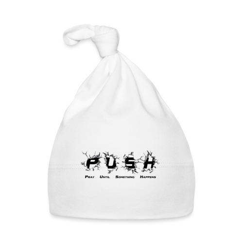 PUSH Black TEE - Baby Mütze