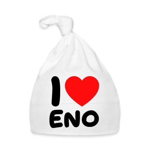 I love Eno / musta - Vauvan myssy