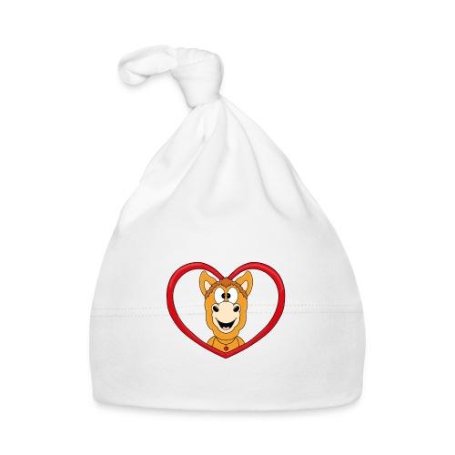 Lustiges Pferd - Pony - Herz - Liebe - Love - Fun - Baby Mütze