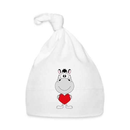 ZEBRA - HERZ - LIEBE - LOVE - TIER - KIND - BABY - Baby Mütze