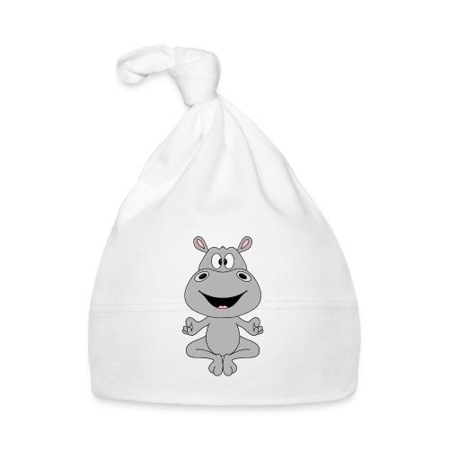 FLUSSPFERD - HIPPO - NILPFERD - YOGA - PILATES - Baby Mütze