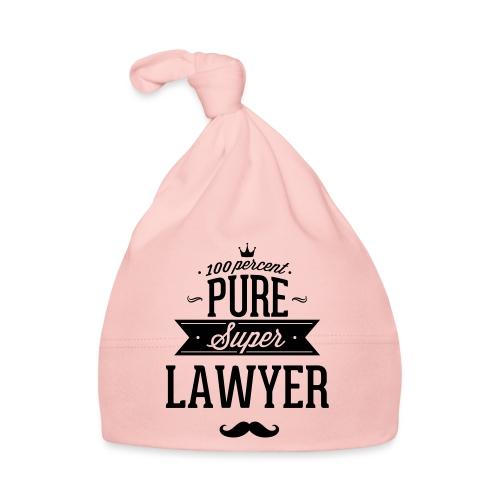 100 Prozent super Anwalt - Baby Mütze