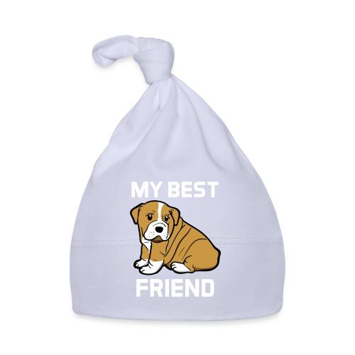 My Best Friend - Hundewelpen Spruch - Baby Mütze