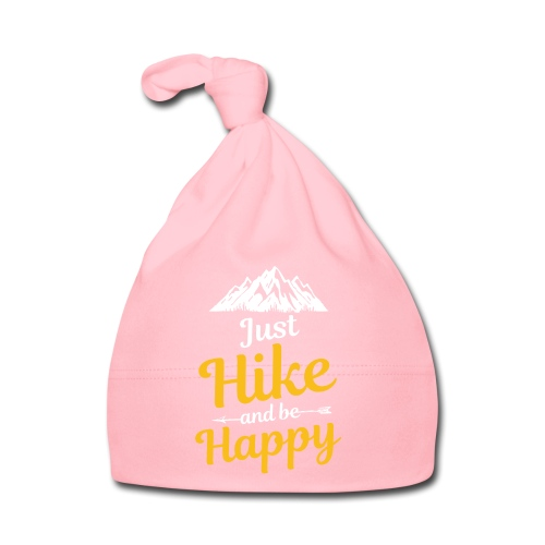 Just Hike And Be Happy Nature-Design für Hiking - Baby Mütze