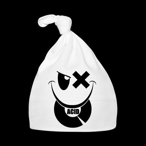 smiley acid techno vinyl - Baby Cap