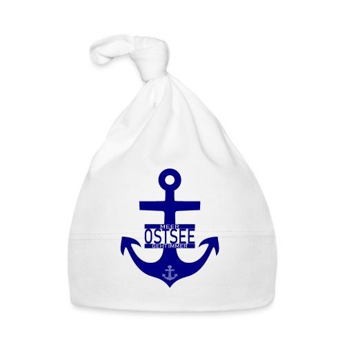 Ostsee Anker Meer geht immer - Baby Mütze