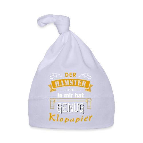 Hamster Hamsterkäufe Klopapier | Humor Sarkasmus - Baby Mütze