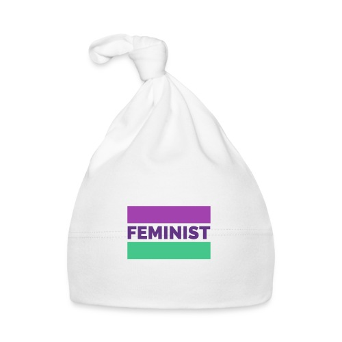 colorful t shirt maker with a feminist - Gorro bebé