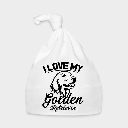 I LOVE MY GOLDEN RETRIEVER - Baby Mütze