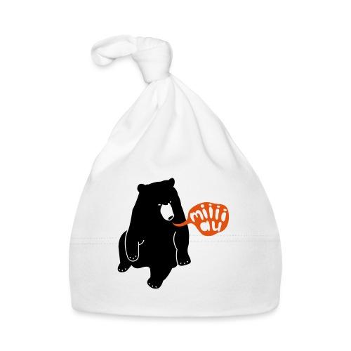 Bär sagt Miau - Baby Mütze