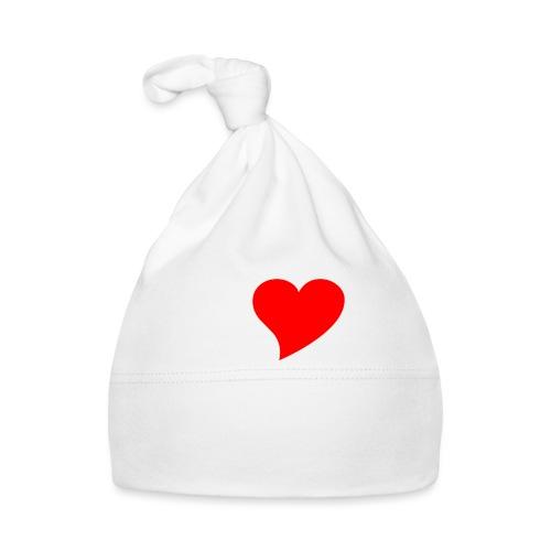 I love 7B weiss - Baby Mütze