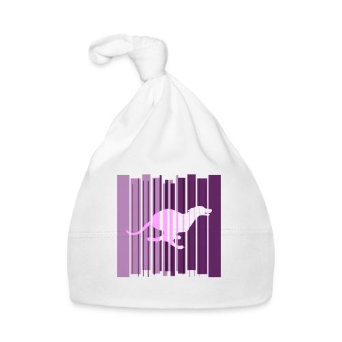 Sighthound In Purple Women's T - Baby Cap