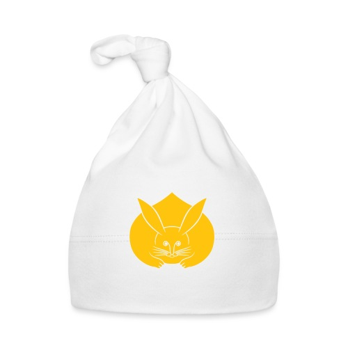 Usagi kamon japanese rabbit yellow - Baby Cap