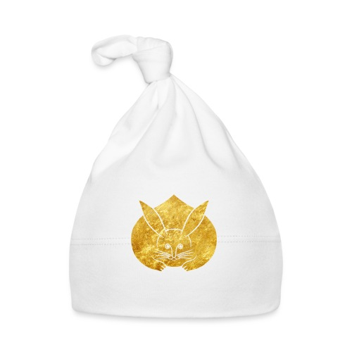 Usagi kamon japanese rabbit gold - Baby Cap