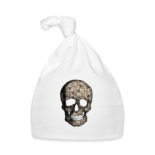 Skull Money Black - Gorro bebé