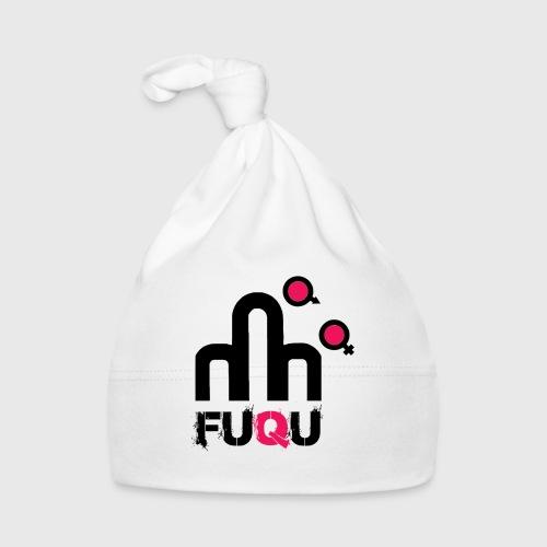 T-shirt FUQU logo colore nero - Cappellino neonato