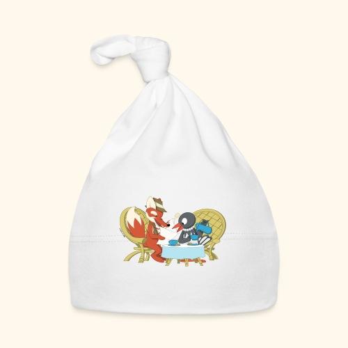 Fuchs und Elster beim Kaffeeklatsch - Baby Mütze