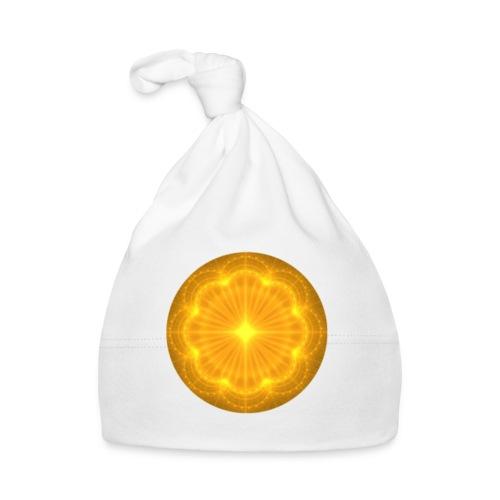 Golden Radiance Mandala Heart - Muts voor baby's