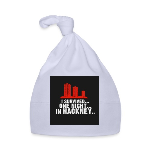 i survived one night in hackney badge - Baby Cap