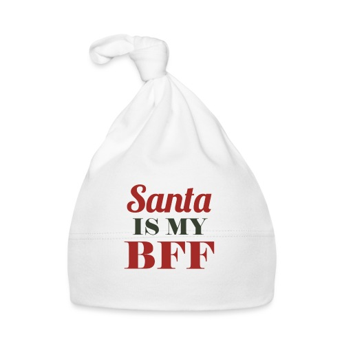 Santa is my BFF! Ein Must have für alle Romantiker - Baby Mütze