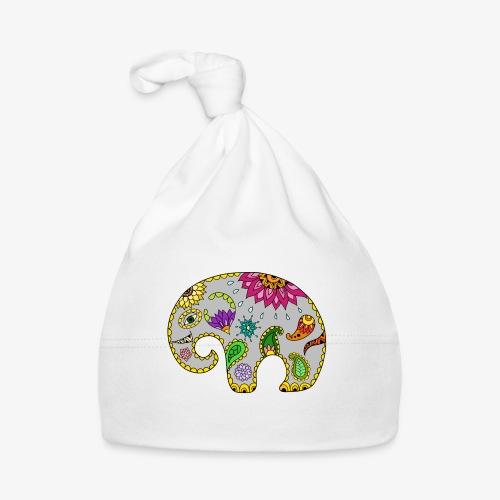Słoń na szczęście - Czapeczka niemowlęca
