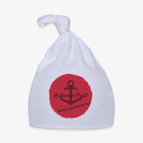 Histamin-Pirat Superheld (rot) - Baby Mütze