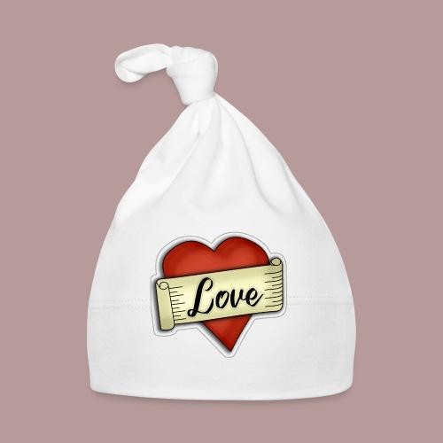 Love cœur tatouage - Bonnet Bébé