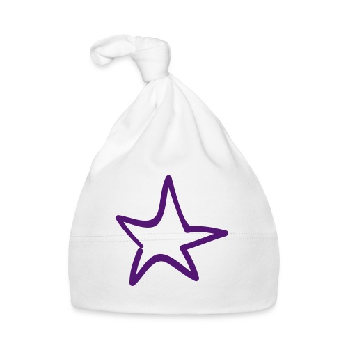 Star Outline Pixellamb - Baby Mütze