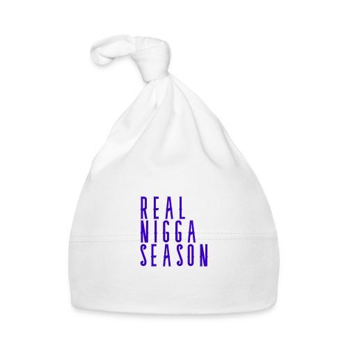 real nigga season blauw - Muts voor baby's