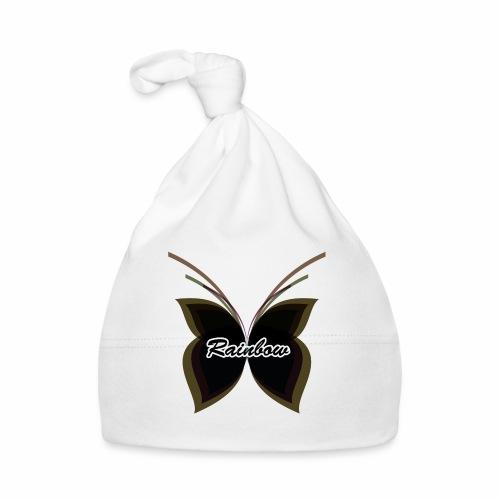 Black Butterfly Rainbow - Baby Mütze