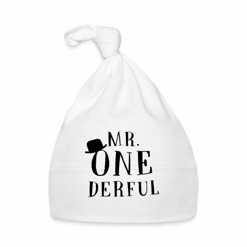 Black Design Mr Onederful - Baby Mütze