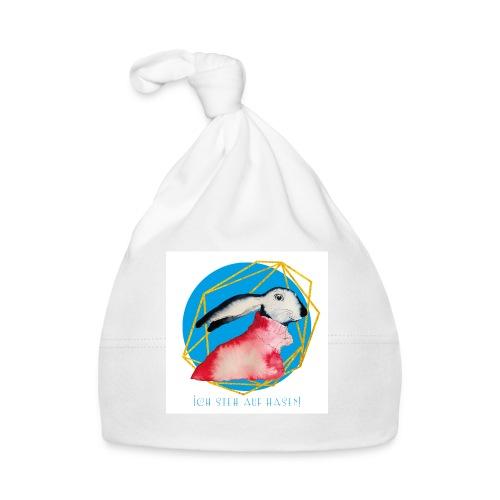 Niedlicher Osterhase mit Rolli - Baby Mütze