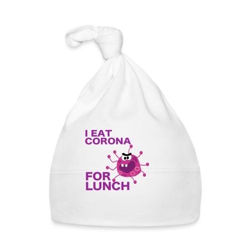 I Eat Corona For Lunch - Coronavirus fun shirt - Muts voor baby's