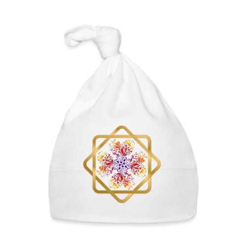 Kleeblatt aus Herzen Octagram - Glück Liebe Sicher - Baby Mütze