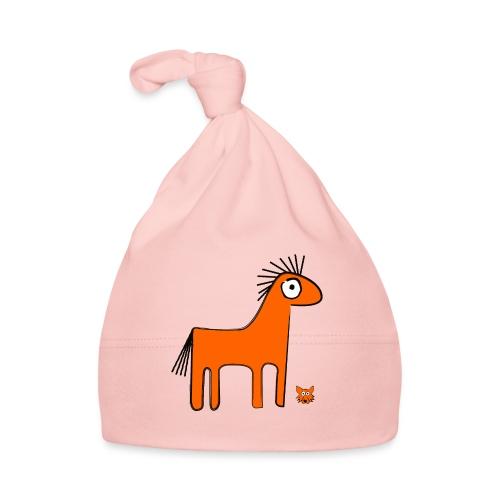 orange horse - Cappellino neonato