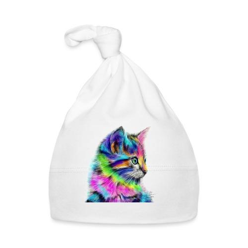Katzen-Flower - Baby Mütze