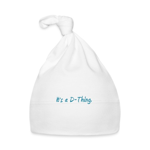 DTWear - It`s a D-Thing - Blue / Blauw - Muts voor baby's