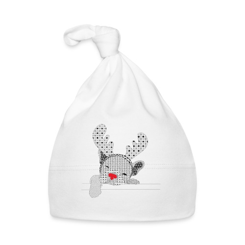 Christmass bulldog red nose - Muts voor baby's