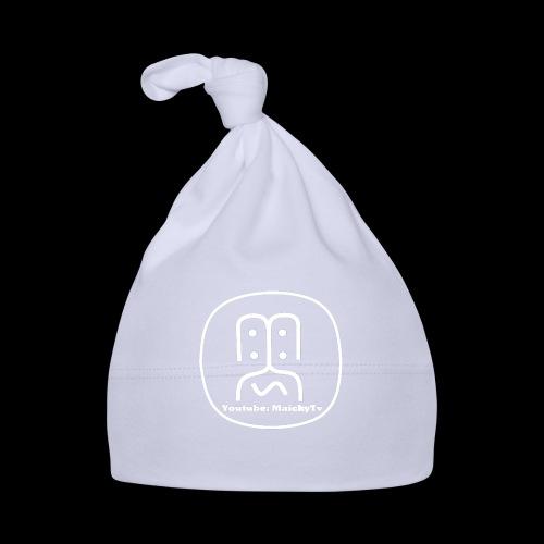 MaickyTv Logo Weiß - Baby Mütze