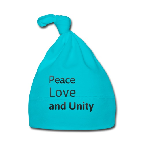 Peace love and unity - Baby Cap