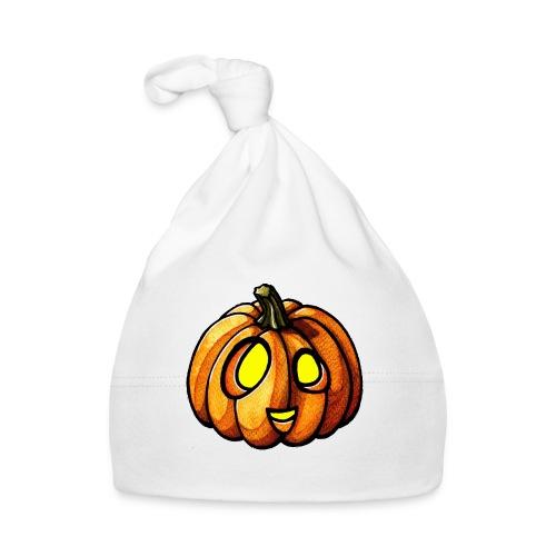Pumpkin Halloween watercolor scribblesirii - Baby Cap